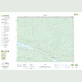 Canadian Topo Map - Bissett - Map 052M04
