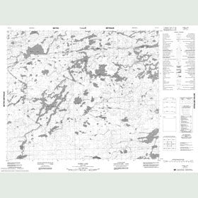 Canadian Topo Map - Dobbs Lake - Map 053E14