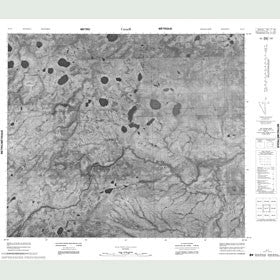 Canadian Topo Map - Map 053I07