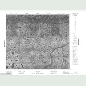 Canadian Topo Map - Fat River - Map 053I09
