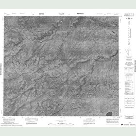 Canadian Topo Map - Map 053I13