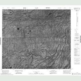 Canadian Topo Map - Map 053I14