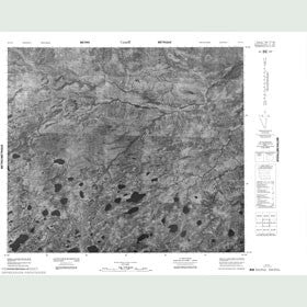 Canadian Topo Map - Map 053J15