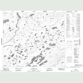 Canadian Topo Map - Schwatka Lake - Map 053M06