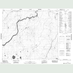 Canadian Topo Map - Map 053N08