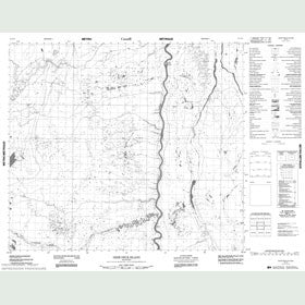 Canadian Topo Map - Deer Neck Island - Map 053N09