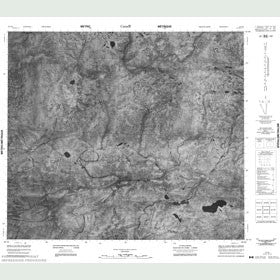 Canadian Topo Map - Map 053O08