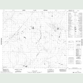 Canadian Topo Map - Map 053O10