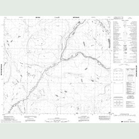 Canadian Topo Map - Map 053O12