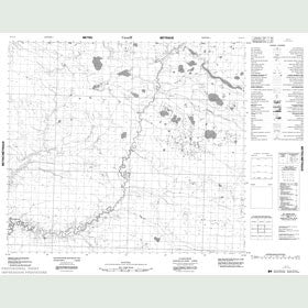Canadian Topo Map - Map 053O14