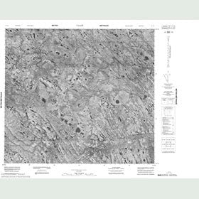 Canadian Topo Map - Map 054A07