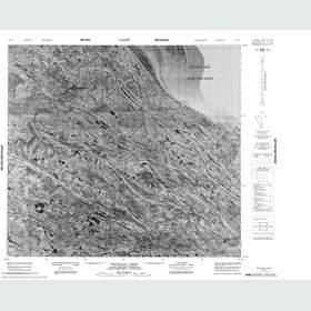 Canadian Topo Map - Mintiagan Creek - Map 054A10