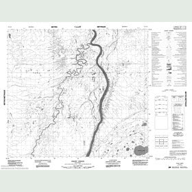 Canadian Topo Map - Prost Creek - Map 054C10