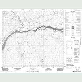 Canadian Topo Map - Deer Island - Map 054C14