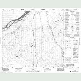 Canadian Topo Map - Fishing Island - Map 054C16