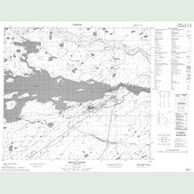 Canadian Topo Map - Stratford Island - Map 054D07