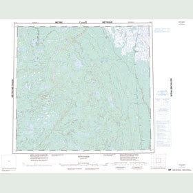 Canadian Topo Map - Herchmer - Map 054E