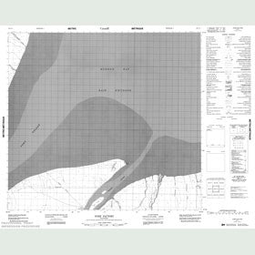 Canadian Topo Map - York Factory - Map 054F01