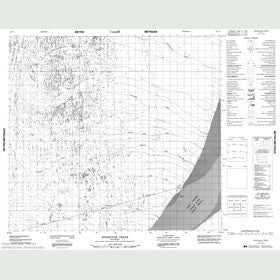Canadian Topo Map - Woodcock Creek - Map 054F02