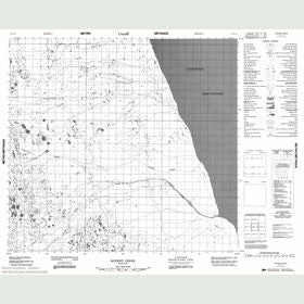 Canadian Topo Map - Rupert Creek - Map 054F10