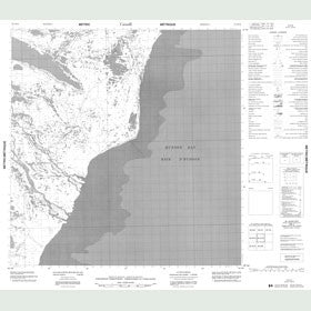 Canadian Topo Map - McConnell River - Map 055D16