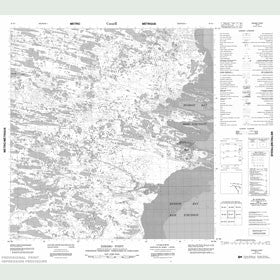 Canadian Topo Map - Arviat - Map 055E01