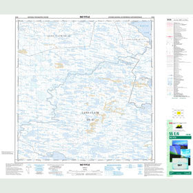 Canadian Topo Map - Map 055E06
