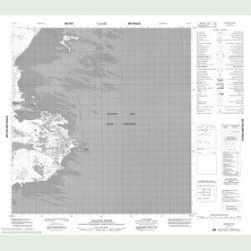 Canadian Topo Map - Maguse Point - Map 055F05