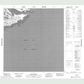 Canadian Topo Map - Sandy Point - Map 055F11