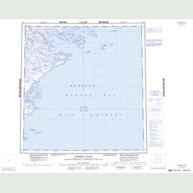 Canadian Topo Map - Dawson Inlet - Map 055F