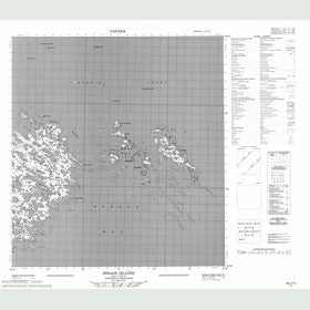 Canadian Topo Map - Mirage Islands - Map 055J12
