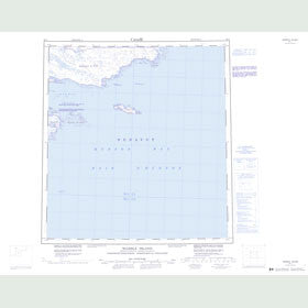 Canadian Topo Map - Marble Island - Map 055J