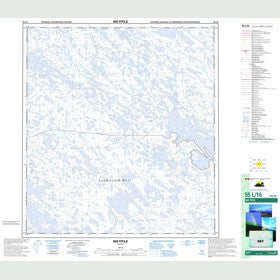 Canadian Topo Map - Map 055L16