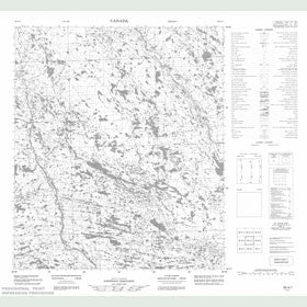 Canadian Topo Map - Map 056A07