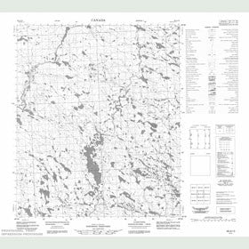 Canadian Topo Map - Map 056A13