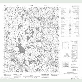 Canadian Topo Map - Map 056A16