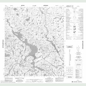 Canadian Topo Map - Map 056B09