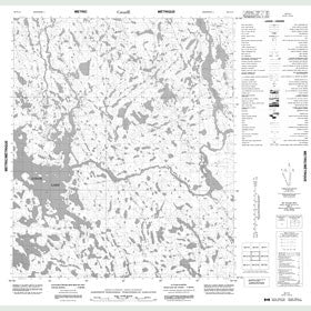 Canadian Topo Map - Map 056C15