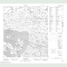 Canadian Topo Map - Rio Island - Map 056D01