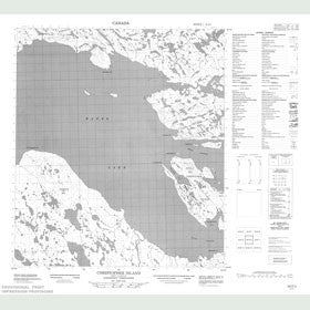 Canadian Topo Map - Christopher Island - Map 056D02