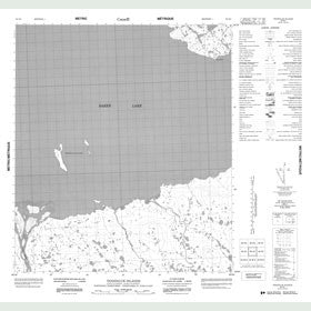 Canadian Topo Map - Tanataluk Islands - Map 056D03