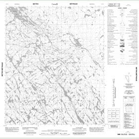 Canadian Topo Map - Map 056F06