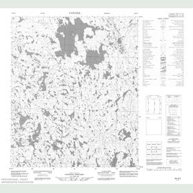 Canadian Topo Map - Map 056G03