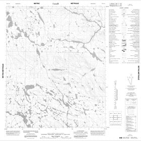 Canadian Topo Map - Map 056G13
