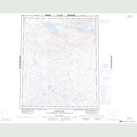 Canadian Topo Map - Wager Bay - Map 056G