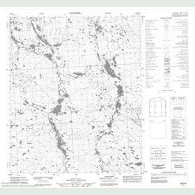 Canadian Topo Map - Map 056H04