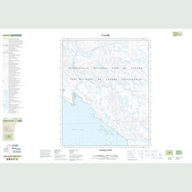 Canadian Topo Map - Aiqqujat Islands - Map 056H14