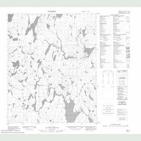 Canadian Topo Map - Map 056I01