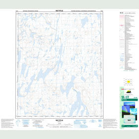 Canadian Topo Map - Map 056I02