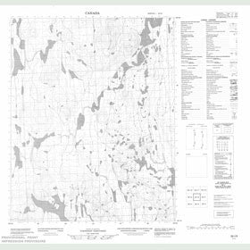 Canadian Topo Map - Map 056I06